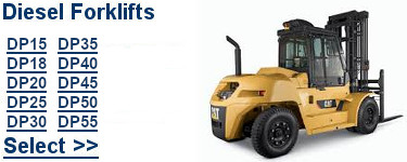 Select Cat Diesel Forklifts